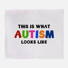 This is what Autism looks like Stadium Blanket