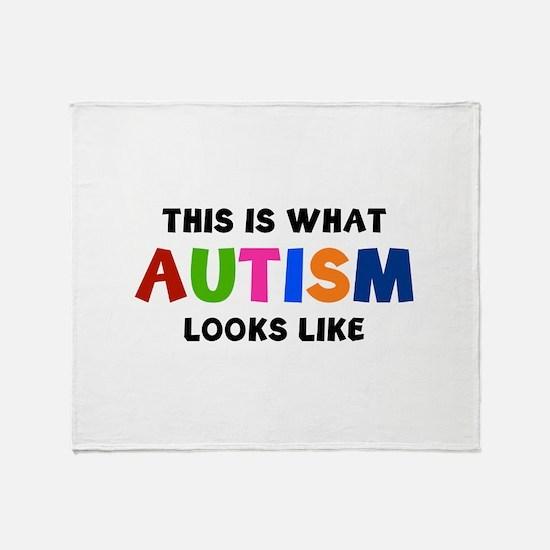 This is what Autism looks like Stadium Blanket