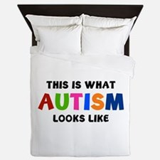 This is what Autism looks like Queen Duvet