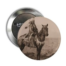 "Arapaho Native American 2.25"" Button"