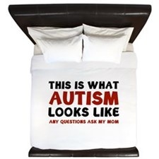 This is what Autism looks like King Duvet