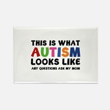 This is what Autism looks like Rectangle Magnet (1