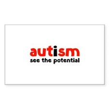 Autism See The Potential Decal