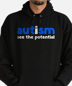 Autism See The Potential Hoodie (dark)