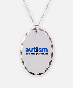 Autism See The Potential Necklace
