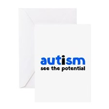 Autism See The Potential Greeting Card