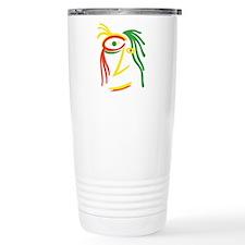 Reggae Face Color1 Travel Mug