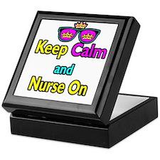 Crown Sunglasses Keep Calm And Nurse On Keepsake B