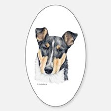 Collie, Short-haired Oval Decal