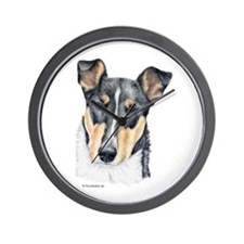 Collie, Short-haired Wall Clock