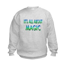 About Magic Sweatshirt