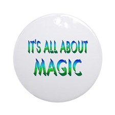 About Magic Ornament (Round)