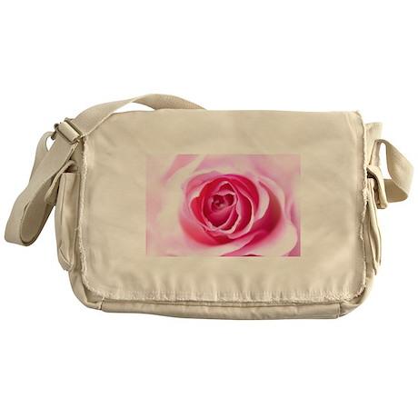 Pink Rose Messenger Bag