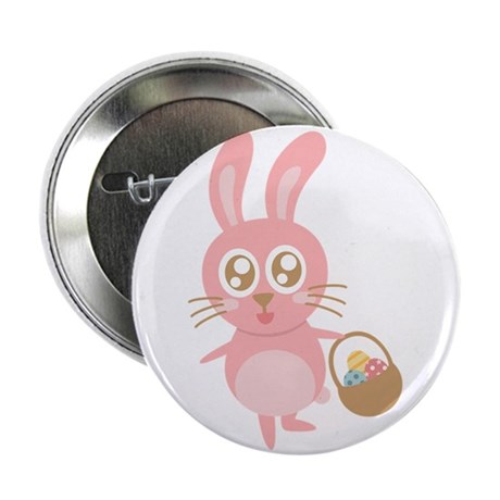 "Cute bunny hopping with a basket of eggs 2.25"" But"