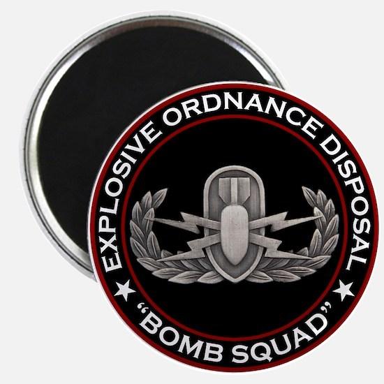 """EOD """"Bomb Squad"""" Magnet"""