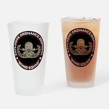 "EOD Senior ""Bomb Squad"" Drinking Glass"