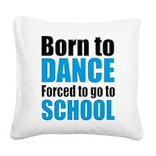 dance Square Canvas Pillow