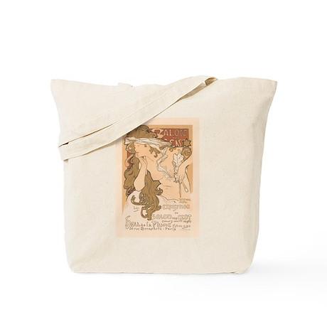 French Art Nouveau Vintage Tote Bag