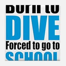 diving Tile Coaster