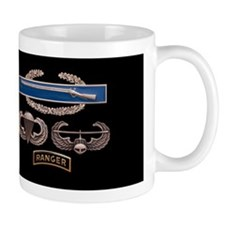 CIB Airborne Air Assault Ranger Mug