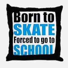 skateboard Throw Pillow