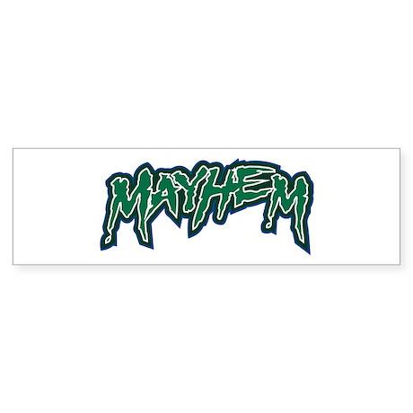 Marion Mayhem Bumper Sticker