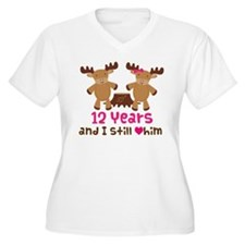 12th Anniversary Moose T-Shirt