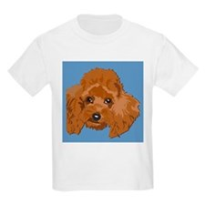 RED POODLE 1.png T-Shirt