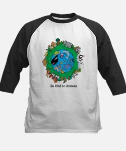 Be Kind To Animals.png Kids Baseball Jersey