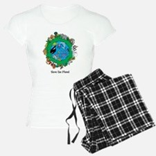 SAVE THE PLANET.png Pajamas