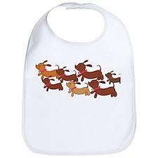 Running Weiner Dogs.png Bib