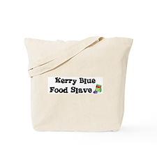 Kerry Blue FOOD SLAVE Tote Bag