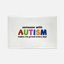 Someone With Autism Makes Me Proud Every Day! Rect