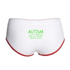 Autism Operating System Women's Boy Brief