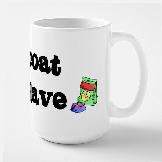Flatcoat FOOD SLAVE Large Mug