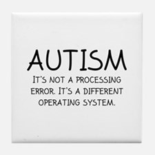 Autism Operating System Tile Coaster