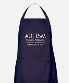 Autism Operating System Apron (dark)