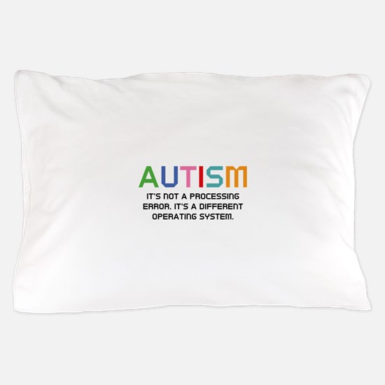 Autism Operating System Pillow Case