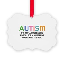Autism Operating System Ornament