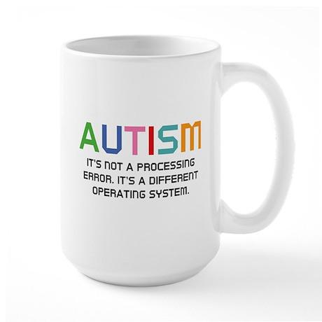 Autism Operating System Large Mug