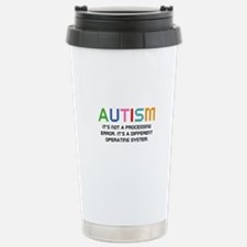 Autism Operating System Travel Mug