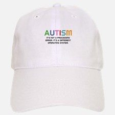 Autism Operating System Baseball Baseball Cap