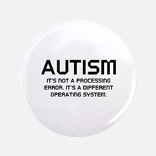 """Autism Operating System 3.5"""" Button"""
