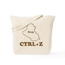 Undo Iraq Tote Bag