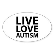 Live Love Autism Decal
