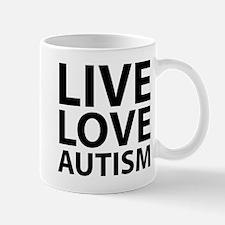 Live Love Autism Mug
