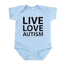 Live Love Autism Infant Bodysuit
