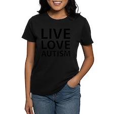 Live Love Autism Tee