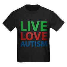 Live Love Autism T
