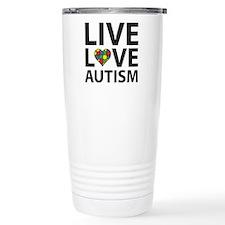 Live Love Autism Travel Mug